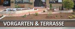Vorgarten & Terrasse